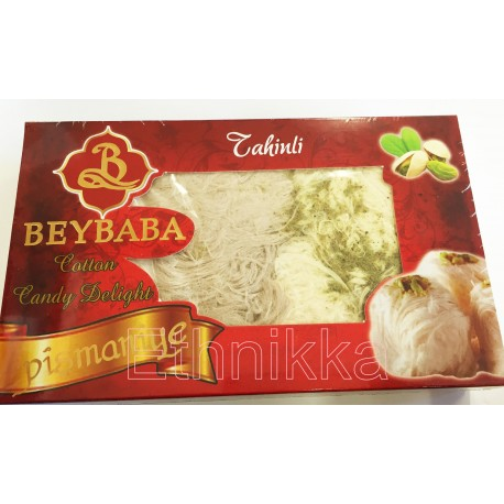 Pistachio halwa cotton candy - Beybaba
